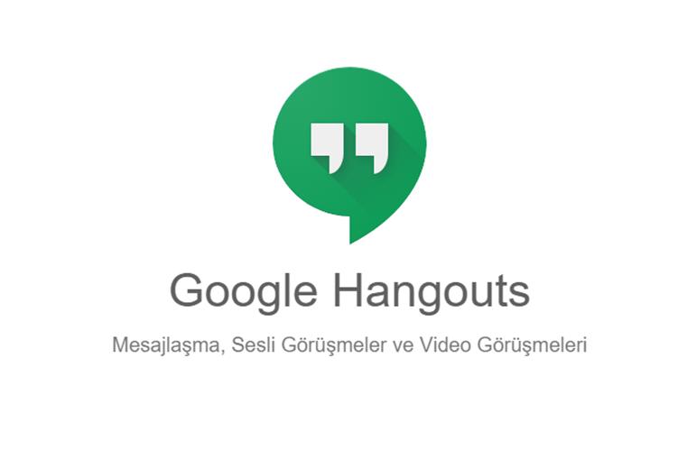 Hangouts dijital araçlar Verimli Çalışma İçin Gerekli Dijital Araçlar google hangouts