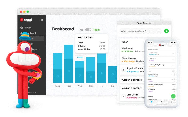 Toggl dijital araçlar Verimli Çalışma İçin Gerekli Dijital Araçlar toogl
